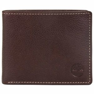 Timberland Pebble Leather Brown Men's Wallet